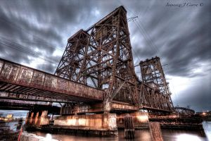 Amtrak Lift Bridge by Inno68