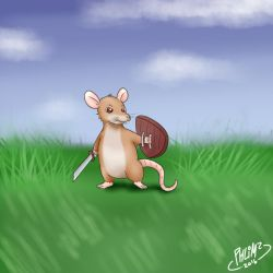 [C] 113420 - Mousey Warrior by PHLiM2