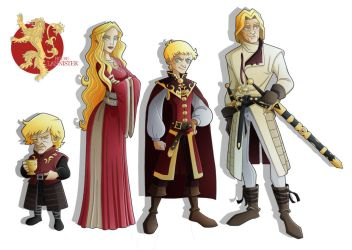 House Lannister by Eumenidi