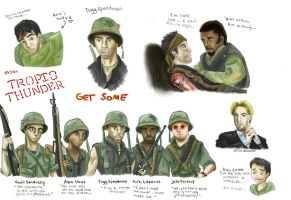 Moar Tropic Thunder - Get Some by picklelova