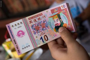 #cny. hell bank note by zoegan