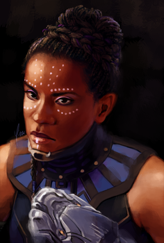 Patreon Reward - Shuri by yinza