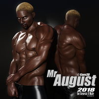 Mr August 2018 for G8M - Artistic Render by Kaos3d