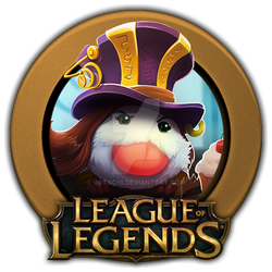 Caitlyn Poro Icon League of Legends by ViciousBlue