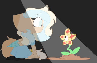 Universetale part1: A flower? by Cupcakeblue22
