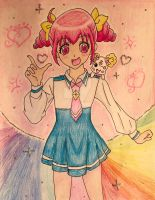 Glitter Force: Emily + Candy by CaptainMockingjay