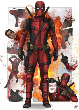 Deadpool by MatthewHogben