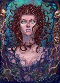 Gorgona Medusa by Xeeming