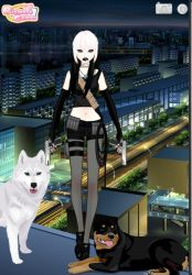 Wolfy The Assassin by holliday4u2luv