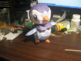 Piplup papercraft by Zimberdum