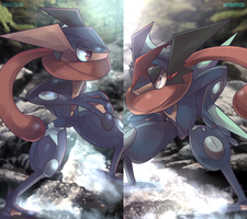 The Shadow Guardian of Kalos by AutobotTesla