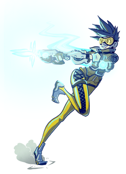 Tracer Fanart by Qyzex