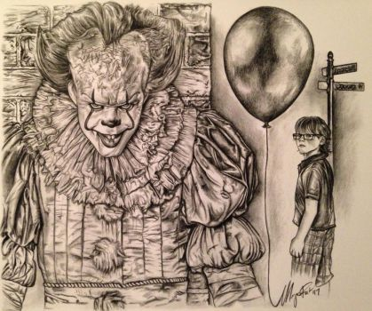 IT Pennywise on the Prowl by MeganzMonkeyBusiness