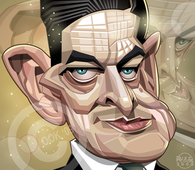 T.S. Eliot by RussCook