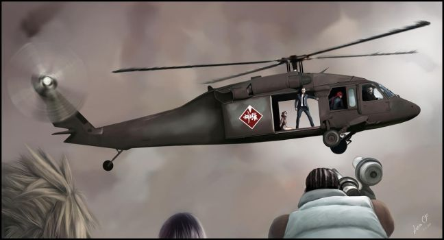 Helicopter by lucife56