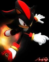 Shadow The Hedgehog by AngieQs