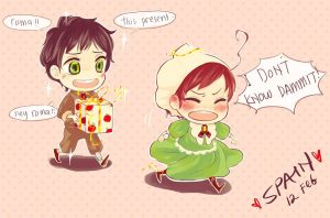 hetalia: HAPPY BIRTHDAY SPAIN by MissIfa