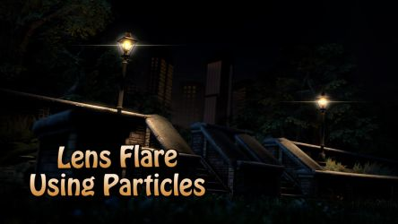 Lens Flare Particle v1.0 [SFM Resource] by argodaemon