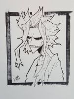 Day 190 All might by TomatoStyles