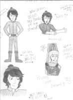 Sketches of Mike by girlwitharubbersoul