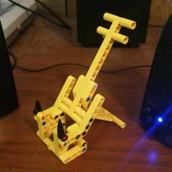 lego Technic MOC: Simple Phone Stand. by Mana-Ramp-Matoran
