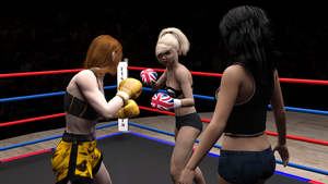 Lacie vs Cassie 08 by suzukishinji