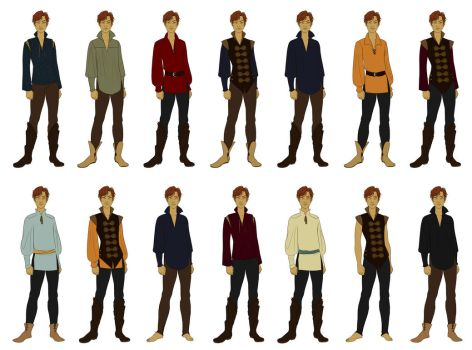 outfits by misi-chan