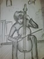 cian in playing the music by chromic7sky