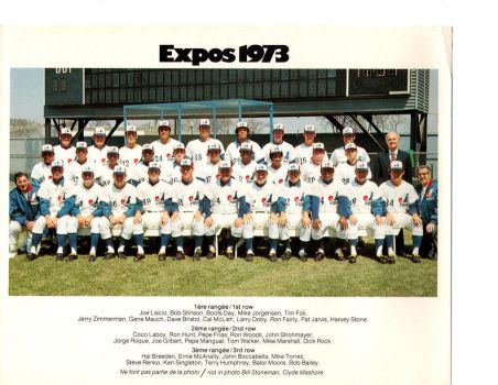 1973 Montreal Expos 7 by danwind
