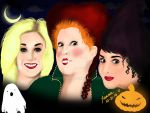 Witches from Hocus Pocus by NerdyLynn
