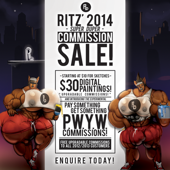 RITZ COMMISSIONS 2014 NOTICE by RitzBeretta