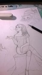 WIP - How Alice really came in Wonderland by Kyra1306