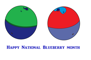 National Blueberry Month by BalloonChey