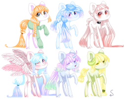 [Closed] Pastel Pony auction: Points or PP by LunnaDeLuna
