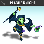 Plague Knight Fan Smashified by MinseokKim