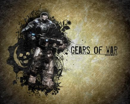 Gears of War - Old Paper by dB03r