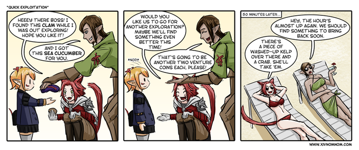 FFXIV Comic: Quick Exploitation by bchart