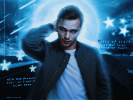City of stars - Nicholas Hoult by BeMyOopsHi