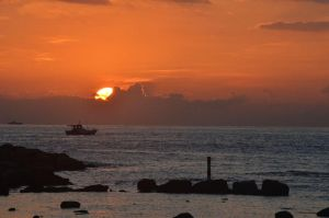 Sunrise from Heping Island by rocketgirl85