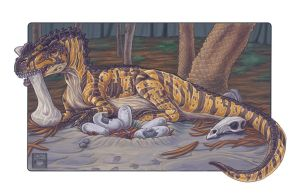 The Mother of Horned Lizards by 0CoffeeBlack0