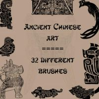 Ancient Chinese Art by rL-Brushes