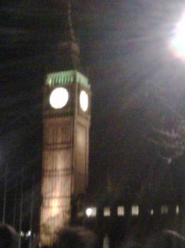 Big Ben at Night by MaidMars
