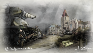 Town Square by TealGuardian