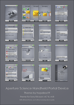 Aperture Science Handheld Portal Device by hopeless-9m