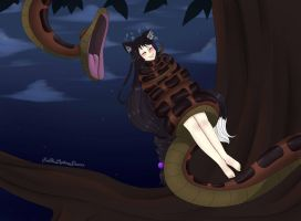 COMMISSION Kaa The Jungle Book by EneTheLigthingDancer