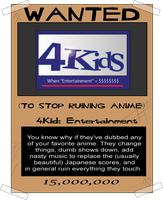 4Kids Wanted Poster by airlobster