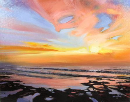 La Jolla Sunset 2 by LS-1302