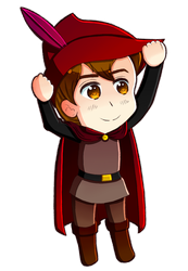 Disney Princes in APH style ~ Prince Phillip(01) by 6t76t