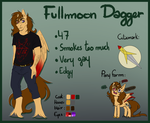 [Reference Sheet] Fullmoon Dagger by FullmoonDagger
