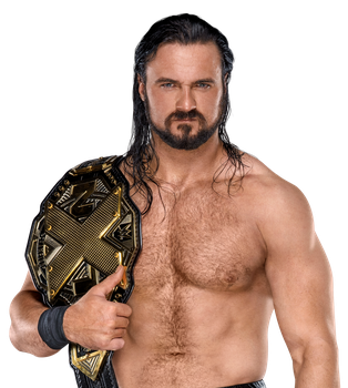 Drew McIntyre NXT Champion by Nibble-T
